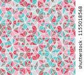 pink  dusty blue  sky blue ... | Shutterstock .eps vector #1155018568
