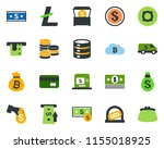 colored vector icon set  ...   Shutterstock .eps vector #1155018925