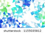 dark blue vector abstract... | Shutterstock .eps vector #1155035812