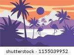 beautiful scene of nature ...   Shutterstock .eps vector #1155039952