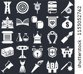 set of 25 icons such as morning ...