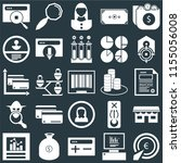 set of 25 icons such as pay per ...