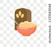 cereals vector icon isolated on ... | Shutterstock .eps vector #1155065068