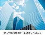 city scape  modern  sky scraper | Shutterstock . vector #1155071638
