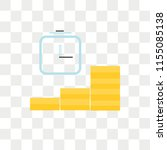 mortgage vector icon isolated... | Shutterstock .eps vector #1155085138