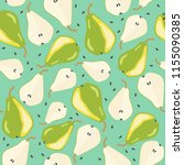 vector seamless pattern with... | Shutterstock .eps vector #1155090385