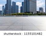 empty floor with modern... | Shutterstock . vector #1155101482