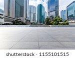 empty floor with modern... | Shutterstock . vector #1155101515