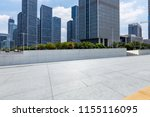 empty floor with modern... | Shutterstock . vector #1155116095