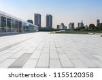 empty floor with modern... | Shutterstock . vector #1155120358