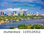 fort lauderdale  florida  usa... | Shutterstock . vector #1155124312