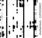grunge halftone black and white ... | Shutterstock .eps vector #1155152815