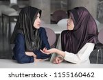 angry  upset  frustrated islam... | Shutterstock . vector #1155160462