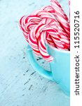 Striped Christmas Candy Canes...