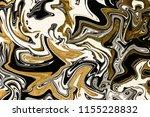 gold marbling texture design.... | Shutterstock . vector #1155228832