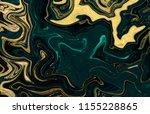 gold marbling texture design.... | Shutterstock . vector #1155228865