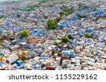 aerial view of jodhpur city ... | Shutterstock . vector #1155229162