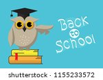 Smart Owl And Back To School...
