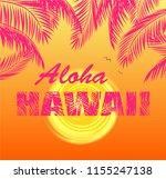 t shirt orange print with hot...   Shutterstock . vector #1155247138