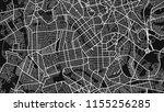 map city goania black white  | Shutterstock .eps vector #1155256285
