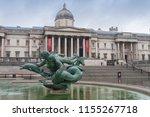 Trafalgar Square  London...