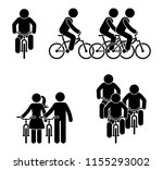 Stick Figure Bicycle Race...