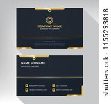 business model name card luxury ... | Shutterstock .eps vector #1155293818