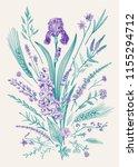 summertime. floral composition. ...   Shutterstock .eps vector #1155294712