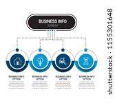 modern infographic options...   Shutterstock .eps vector #1155301648