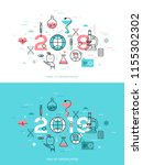 infographic concept  2019  ... | Shutterstock .eps vector #1155302302