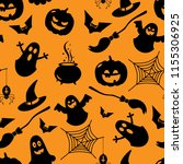 seamless vector pattern for a... | Shutterstock .eps vector #1155306925