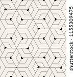 vector seamless pattern. modern ... | Shutterstock .eps vector #1155309475