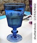 blue glass of water | Shutterstock . vector #1155329602