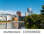 malmo   sweden august 11  2018  ... | Shutterstock . vector #1155338332