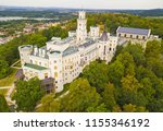 Aerial View Of Castle In...