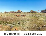 ani ruins. between 961 and 1045 ... | Shutterstock . vector #1155356272