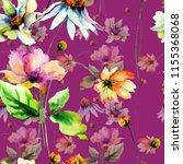 seamless pattern with original...   Shutterstock . vector #1155368068