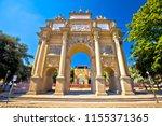piazza della liberta square and ... | Shutterstock . vector #1155371365