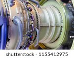 jet engine  internal structure... | Shutterstock . vector #1155412975