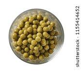 green pea in bowl. preparing...   Shutterstock . vector #1155414652