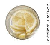 lemon in bowl.  preparing...   Shutterstock . vector #1155416905