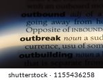 outbreak word in a dictionary....