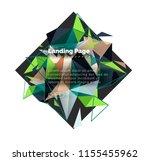 triangular design abstract...
