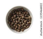 allspice in bowl. preparing...   Shutterstock . vector #1155466822