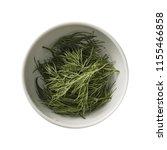 dill in bowl. preparing...   Shutterstock . vector #1155466858