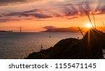 Beautiful Sunset On The Golden...