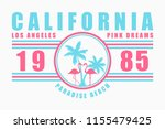 california typography for t... | Shutterstock .eps vector #1155479425