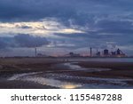 redcar seafront. located on the ...   Shutterstock . vector #1155487288