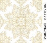 seamless golden laced vector... | Shutterstock .eps vector #1155499102