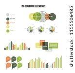 infographic elements  report... | Shutterstock .eps vector #1155506485
